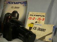 '    IS-3000  -NICE SET- ' Olympus IS3000 SLR Camera c/w -RARE GRIP- + Inst + Brochure £29.99